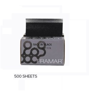 FRAMAR 5 x 11 POP UPS BACK IN BLACK - 500 SHEETS