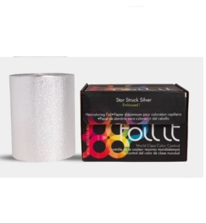 FO STAR STRUCK SILVER EMBOSSED HEAVY FOIL 1LB ROLL