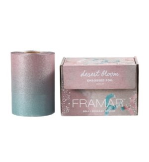 FRAMAR EMBOSSED ROLL(320') FOIL - DESERT BLOOM (LE)