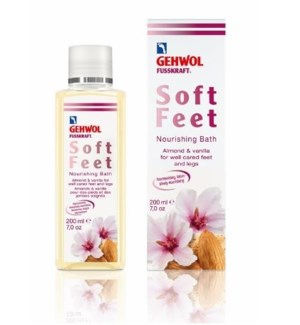 GEHWOL FUSSKRAFT SOFT FEET NOURISHING BATH 200ML