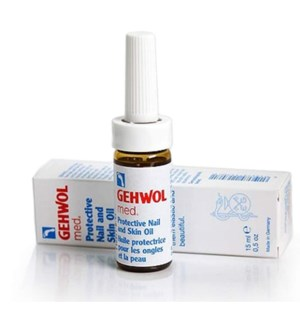 GEHWOL MED NAIL & SKIN PROTECTION OIL 15ML
