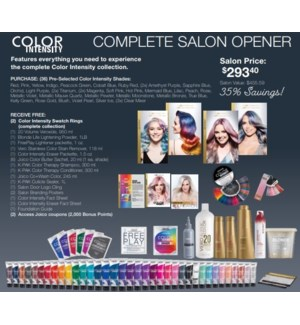 JOCI COLOR INTENSITY COMPLETE SALON OPENER 2020