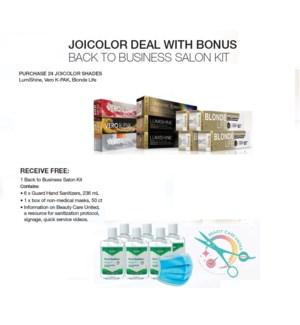 JOICO BACK TO BUSINESS GWP (NOT FOR RESALE)