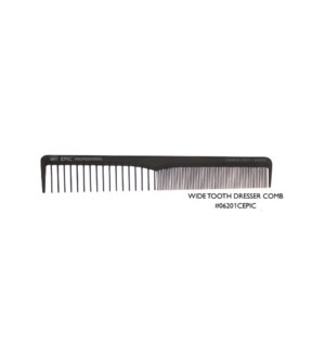JD EPIC CARBONITE WIDE TOOTH DRESSER COMB