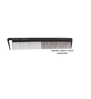 JD EPIC CARBONITE DRESSER COMB WITH HOOK