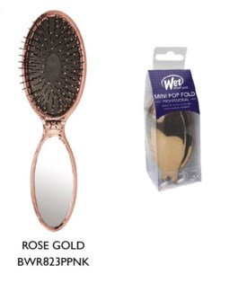 JD WETBRUSH MINI POP FOLD ROSE GOLD