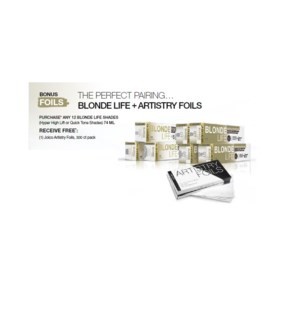 JOICO ARTISTRY FOILS W/ PURCHASE OF (12) BLONDE LIFE SHADES