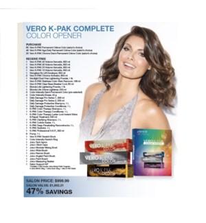 JOICO VERO K-PAK COMPLETE COLOR OPENER 2021