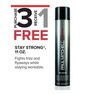 PM STAY STRONG EXPRESS DRY 300ML 3 + 1 NC SO'19