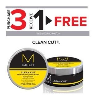 PM MITCH CLEAN CUT 3OZ 3 + 1 NC MA'20