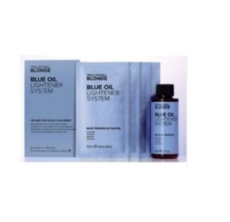 PM BLUE OIL LIGHTENER SYSTEM (4 FOIL PACKS, 1 BOOSTER)