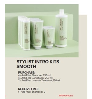 PM CLEAN BEAUTY STYLIST INTRO KIT - SMOOTH