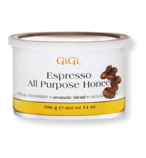 GIGI ESPRESSO ALL PURPOSE HONEE WAX 14 OZ