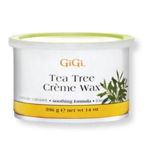 DISC//GIGI TEA TREE CREME WAX 14 OZ