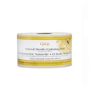 GIGI NATURAL MUSLIN EPILATING ROLL 40YD
