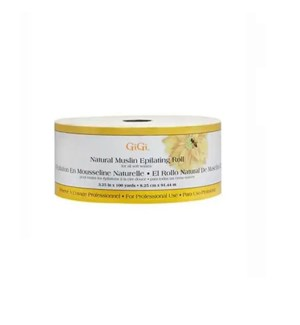 GIGI NATURAL MUSLIN  EPILATING ROLL 100YD
