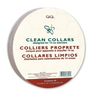 GIGI CLEAN COLLARS - LARGE 50/PKG