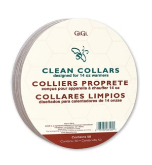 DISC//GIGI CLEAN COLLARS - LARGE 50/PKG