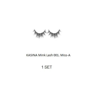 KASINA MINK LASHES - Miss - A - 1 SET