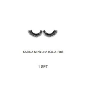 KASINA MINK LASHES A-PINK (1 SET)