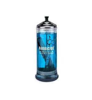 BARBICIDE JARS/ CONTAINER