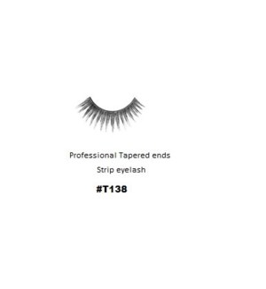 KASINA PRO TAPERED ENDS STRIP EYELASH #T138 (1 SET)