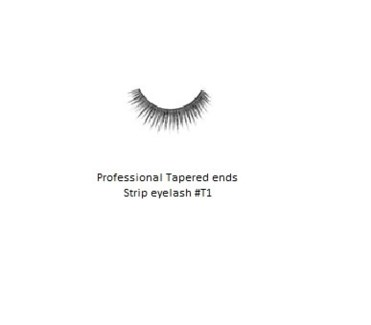 KASINA PRO LASH - TAPERED ENDS - STRIP EYELASH #T1-1 SET