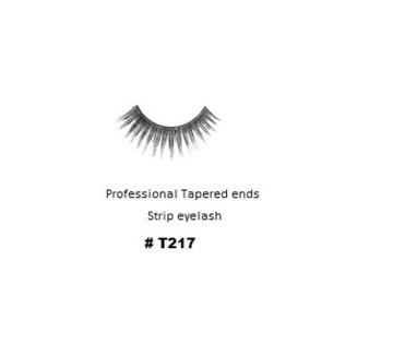 KASINA PRO LASH - TAPERED ENDS - STRIP EYELASH #T217-1 SET