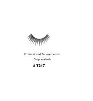 KASINA PRO TAPERED ENDS STRIP EYELASH #T217 (1 SET)