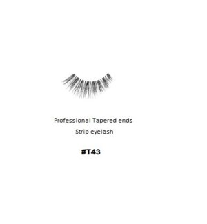 KASINA PRO TAPERED ENDS STRIP EYELASH #T43 (1 SET)