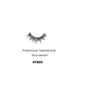KASINA PRO TAPERED ENDS STRIP EYELASH #T605 (1 SET)