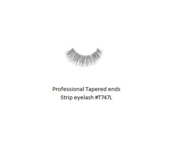 KASINA PRO LASH - TAPERED ENDS - STRIP EYELASH #T747L-1 SET