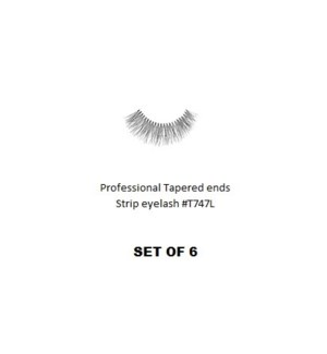 KASINA PRO TAPERED ENDS STRIP EYELASH #T747L (6 SETS)