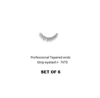 KASINA PRO LASH - TAPERED ENDS - STRIP EYELASH #T747S-6 SETS
