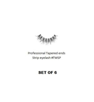 KASINA PRO TAPERED ENDS STRIP EYELASH #TWSP (6 SETS)