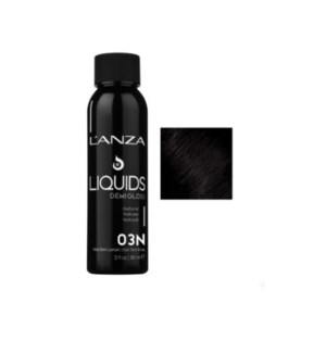 L'ANZA HC LIQUIDS DEMI GLOSS 3N DARKEST NATURAL BROWN 90ML