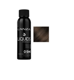 L'ANZA HC LIQUIDS DEMI GLOSS 5N LIGHT NATURAL BROWN 90ML