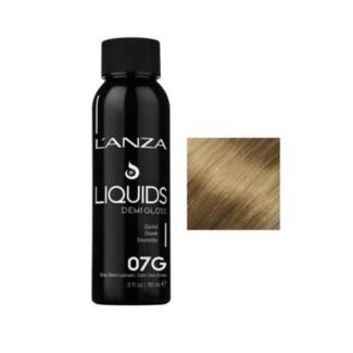 L'ANZA HC LIQUIDS DEMI GLOSS 7G DARK GOLD BLONDE 90ML