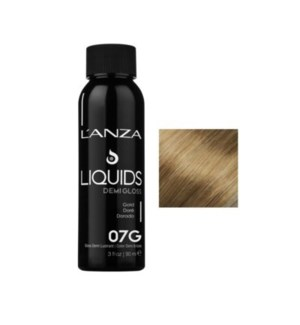 L'ANZA HC LIQUIDS DEMI GLOSS 7G DARK GOLD BLONDE 90ML