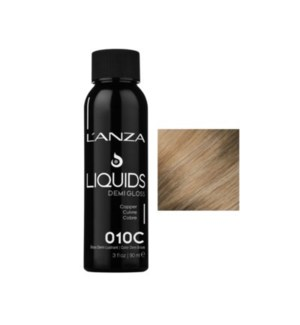 L'ANZA HC LIQUIDS DEMI GLOSS 10C ULTRA LIGHT COPPER BL  90ML