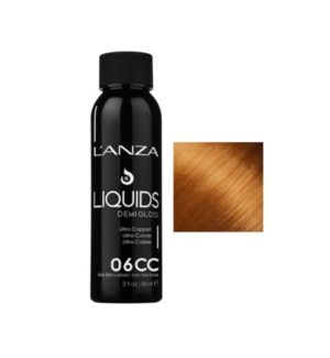L'ANZA HC LIQUIDS DEMI GLOSS 6CC DARK ULTRA  COPPER BL  90ML