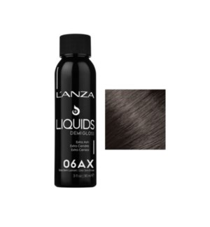 L'ANZA HC LIQUIDS DEMI GLOSS 6AX DARK EXTRA ASH BLONDE  90ML
