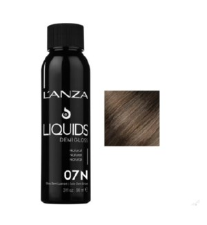 LNZ HC LIQ DEMI GLOSS 07N NATURAL (LAP19750)