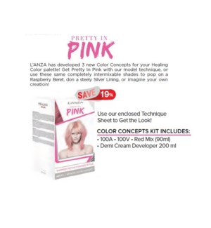 L'ANZA COLOR CONCEPT KIT PRETTY IN PINK//ND'18