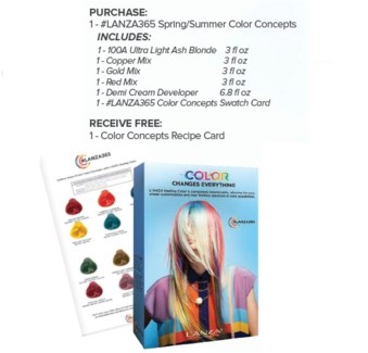 L'ANZA COLORS OF THE YEAR CONCEPT KIT//MJ'19