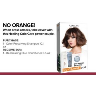 L'ANZA BAN BRASSY NO ORANGE COLORCARE KIT//MA'19