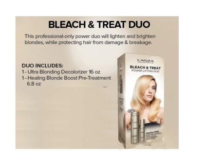 LANZA BEBLONDER BLEACH & TREAT DUO//MJ'19