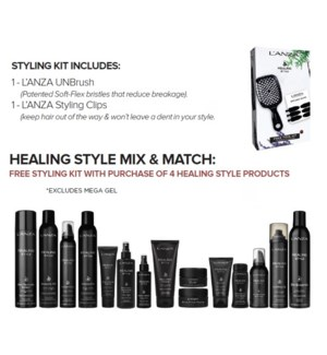 LANZA BUY 4 HEALING STYLE PRODUCT GET NC STYLING KIT SO'19