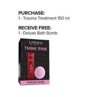 LAN THINK PINK TRAUMA TREATMENT w/ FREE DELUXE BATHBOMB