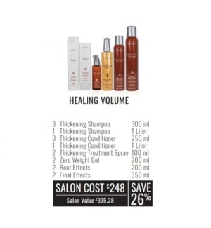 L'ANZA HEALING VOLUME SEGMENT OFFER//2019